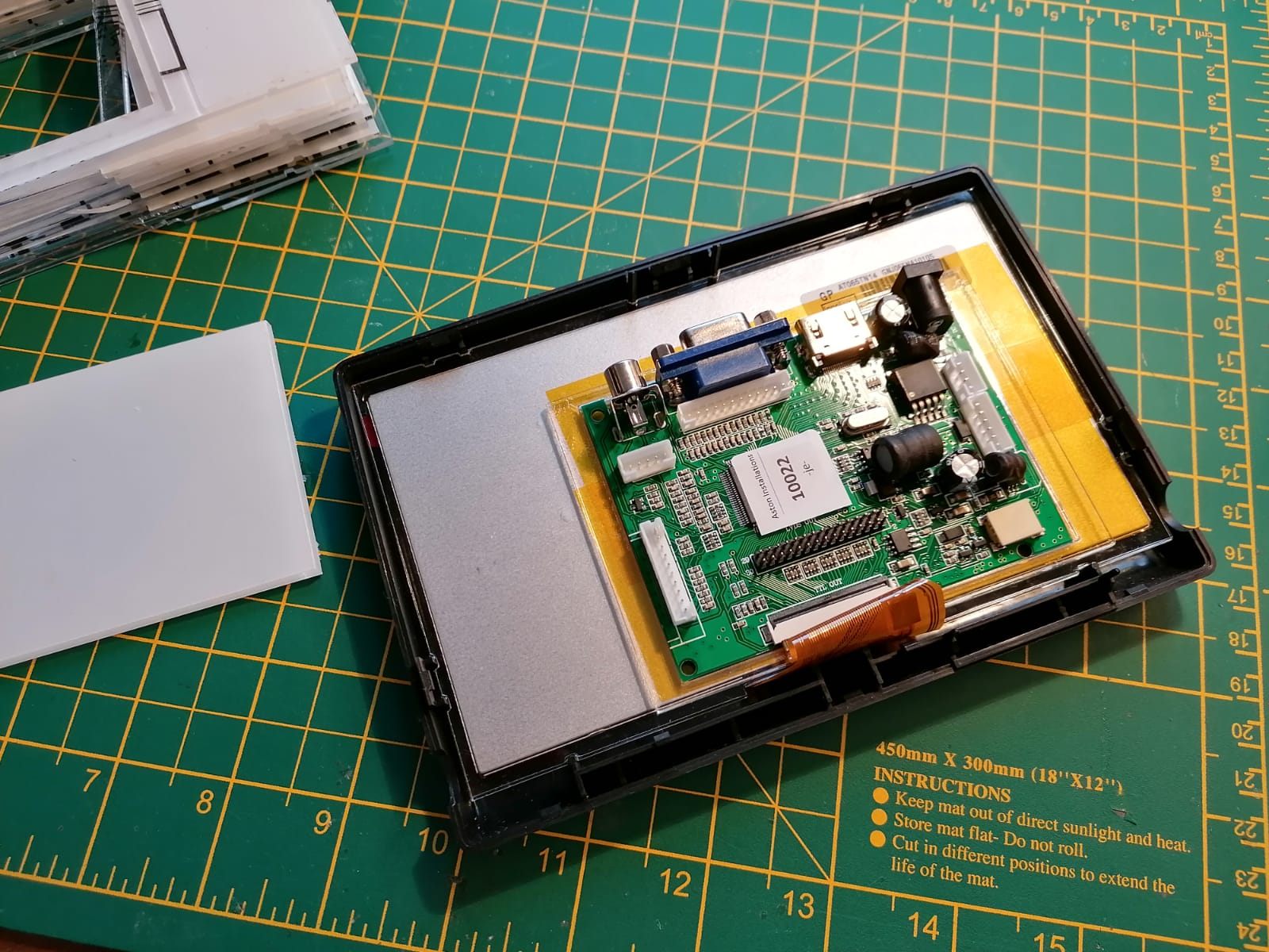 Aston Martin HD Screen LCD Driver
